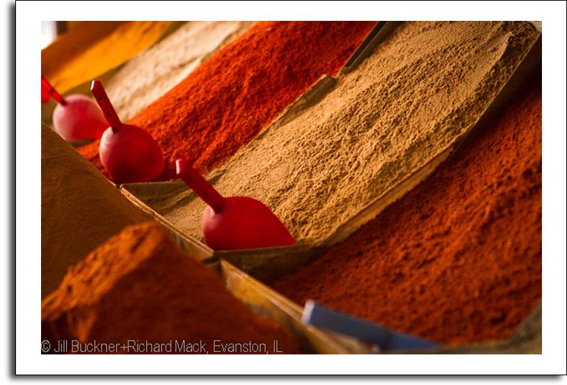 Spices, Morocco, Buckner + Mack