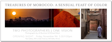 Treasures of Morocco Gallery Opening